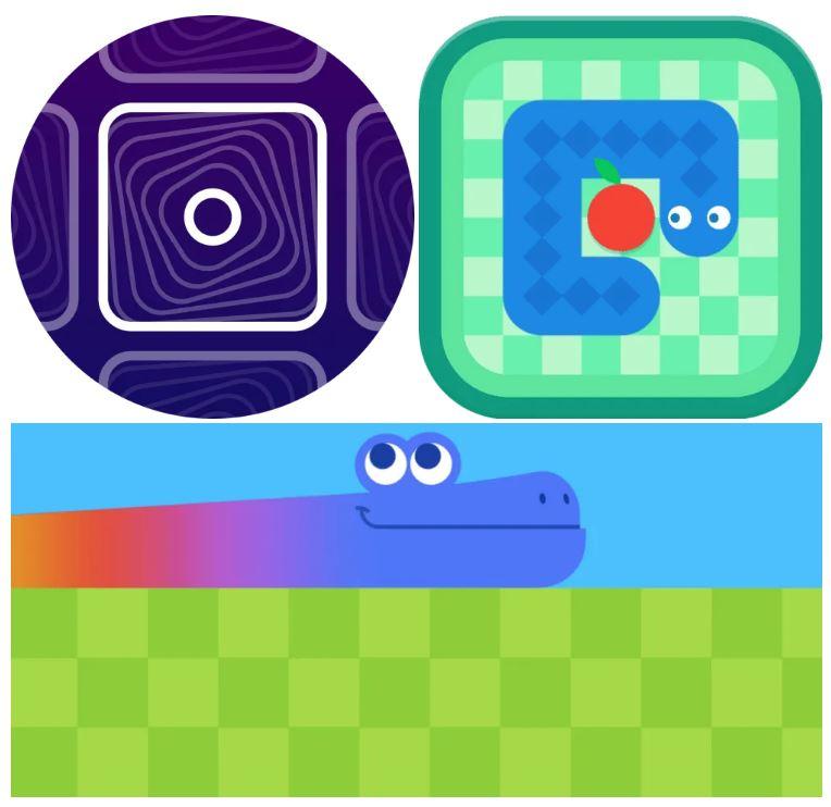 Google Chrome jocuri speciale