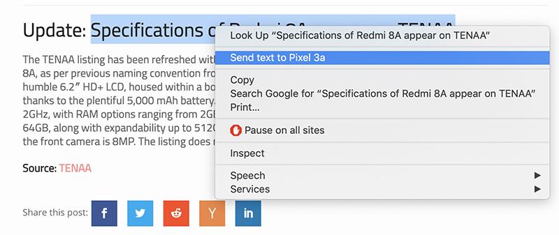 Google Chrome partajare clipboard