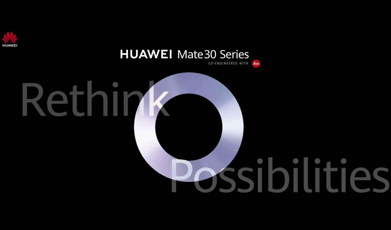 Huawei MATE 30 PRO DATA LANSARE