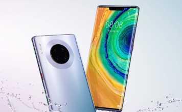 Huawei MATE 30 PRO. EXCLUSIV, PRIMA Imagine OFICIALA cu Telefonul