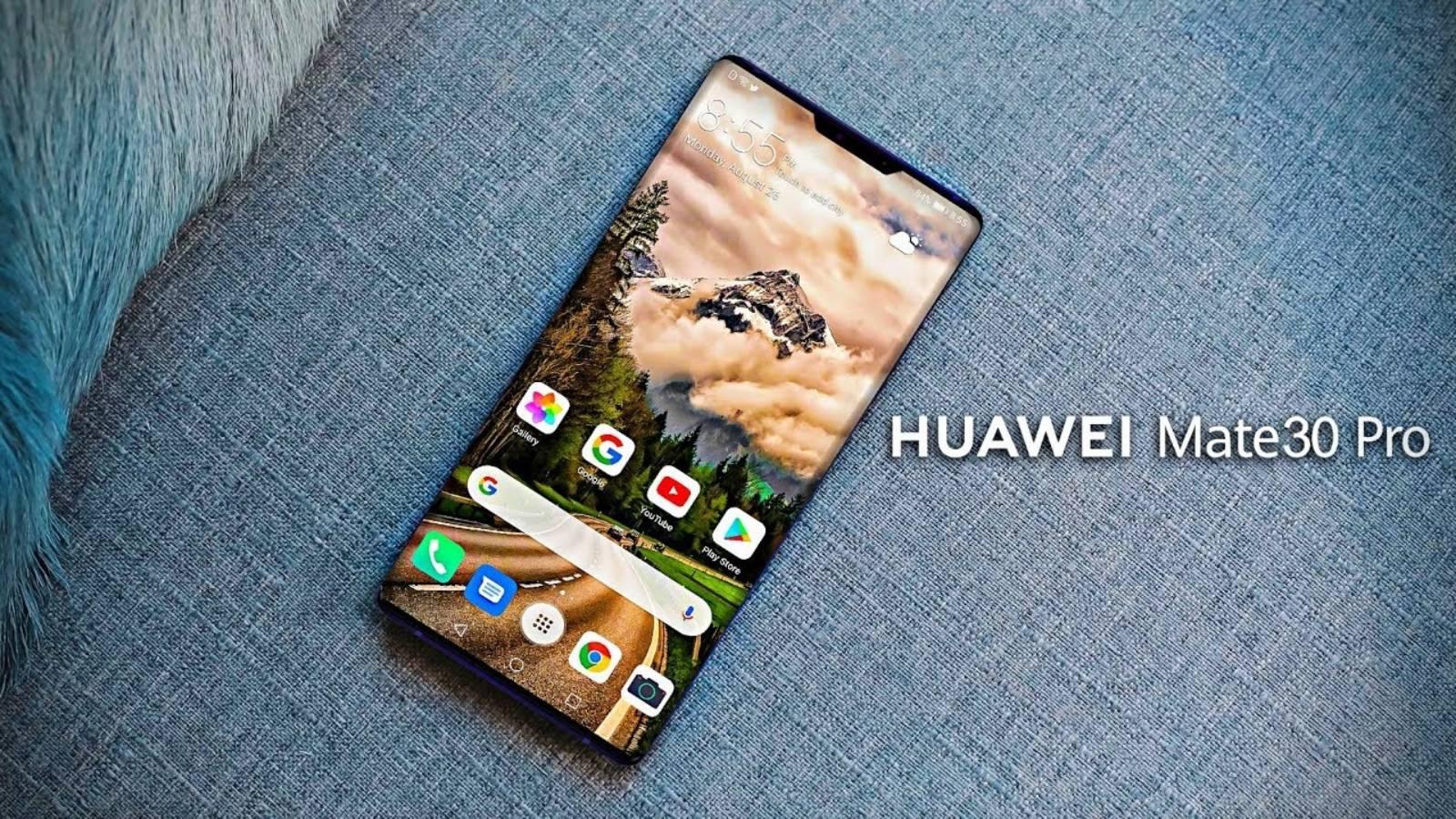 Huawei MATE 30 PRO. Uimitoare IMAGINE Noua cu o UNITATE REALA