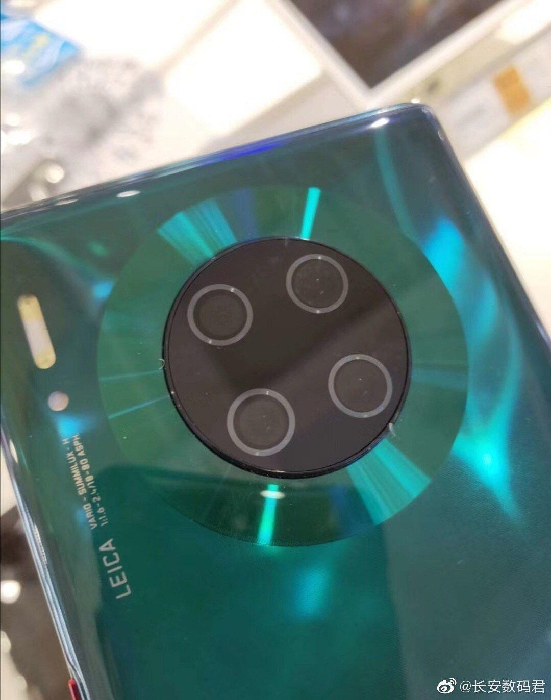 Huawei MATE 30 Pro unitate reala camera
