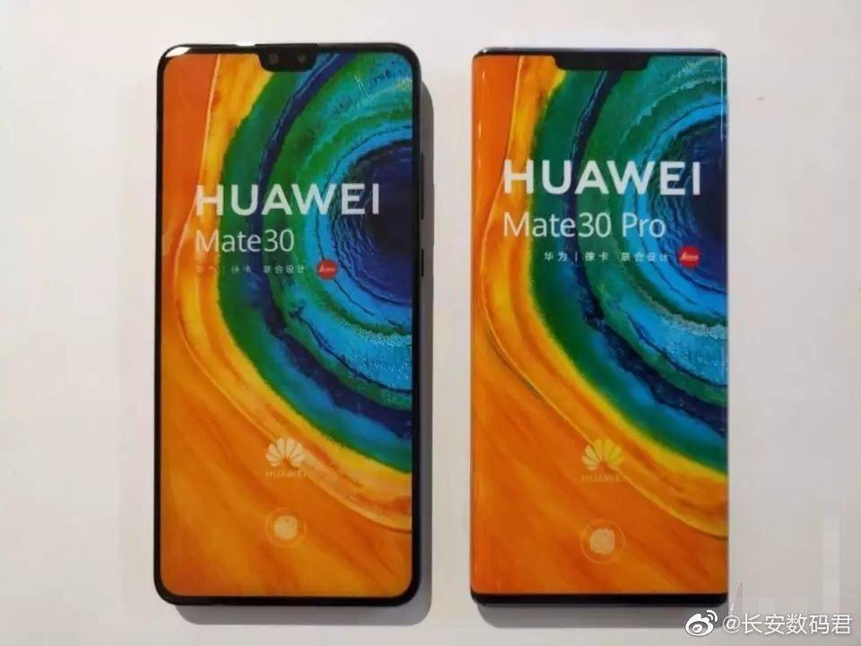 Huawei MATE 30 Pro unitate reala frontal