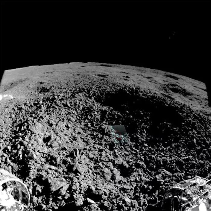 Imaginea ULUITOARE de pe LUNA a UIMIT si Cercetatorii NASA substanta