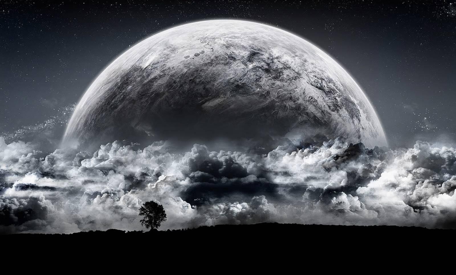 LUNA. Imaginea INCREDIBILA care a ULUIT Intreaga Omenire