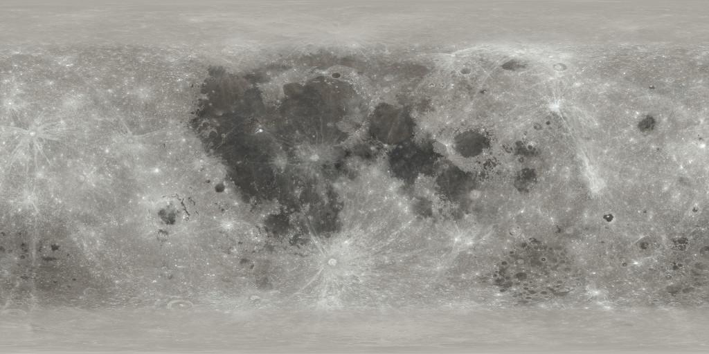 LUNA. NASA UIMESTE cu o Imagine ULUITOARE pentru Omenire imagine color