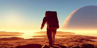 Planeta Marte mancare