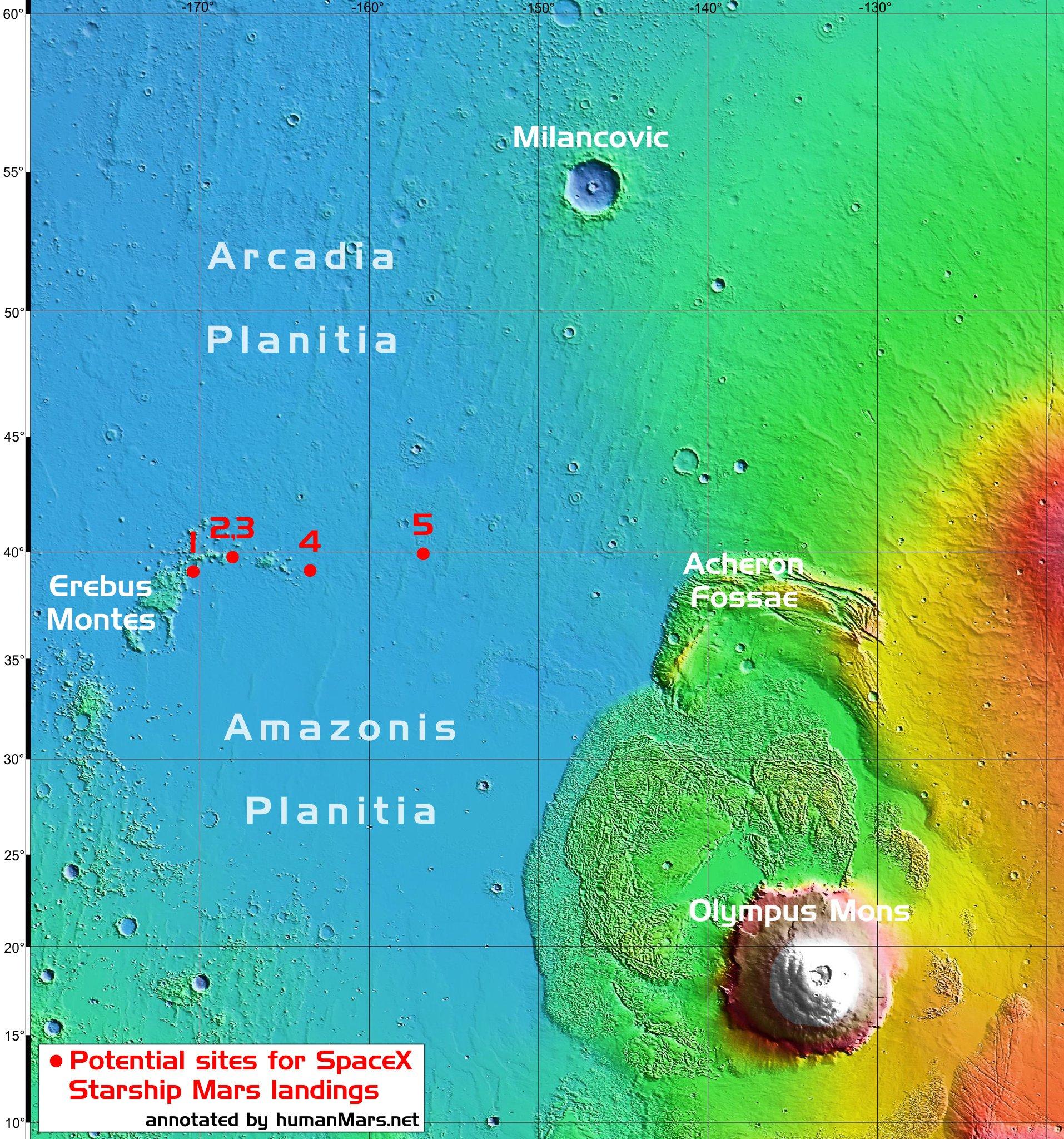 Planeta Marte. NASA UIMESTE cu o Noua Imagine IMPRESIONANTA aterizare