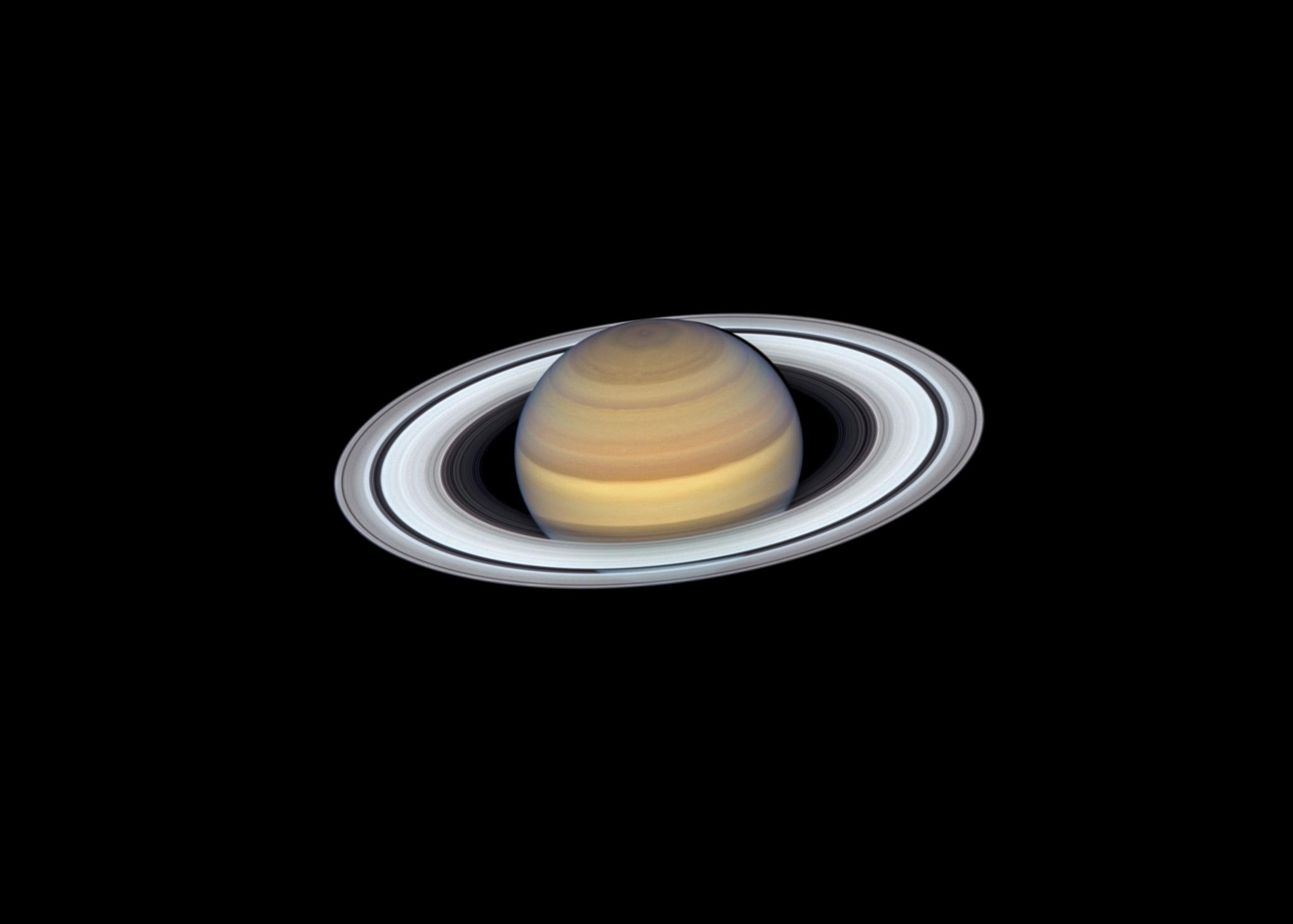 Planeta Saturn. Noua Imagine UIMITOARE Publicata de NASA imagine