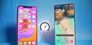 Samsung GALAXY Note 10 Plus performante iphone 11 pro max
