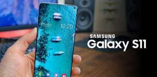 Samsung GALAXY S11 scanare amprente
