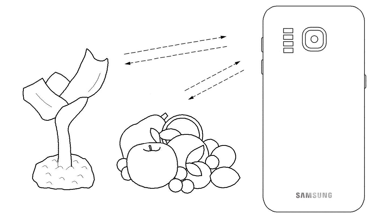 Samsung GALAXY S11 spectrometru brevet inventie