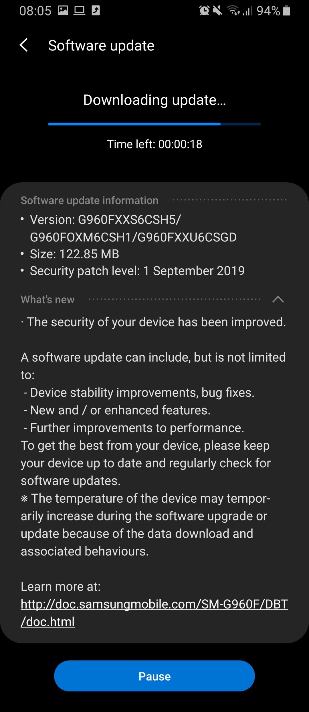 Samsung GALAXY S9. Vestea GROZAVA pentru TOTI Utilizatorii update