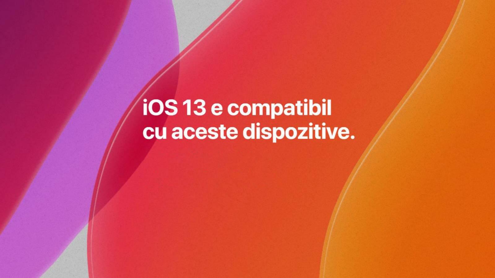 iOS 13 - Acestea sunt TOATE Telefoanele iPhone Compatibile