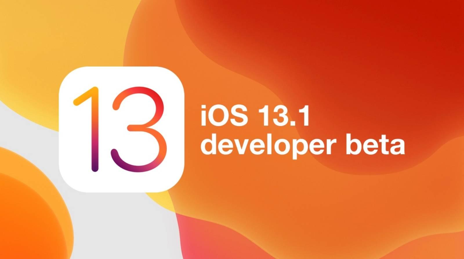 iOS 13.1 are DATA de LANSARE AVANSATA de catre Apple