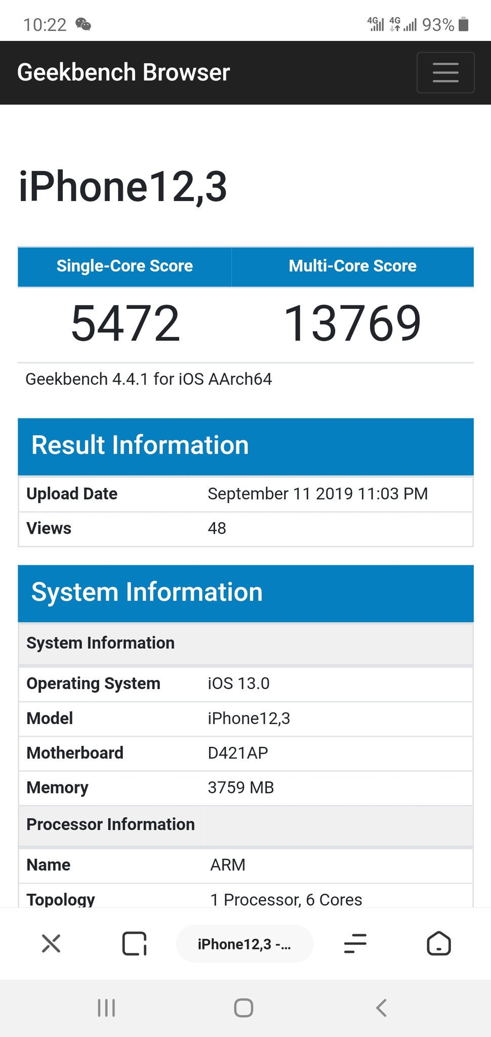 iPhone 11 Pro va UMILI NOTE 10, Huawei Mate 30 PRO, Iata Performantele UIMITOARE geekbench