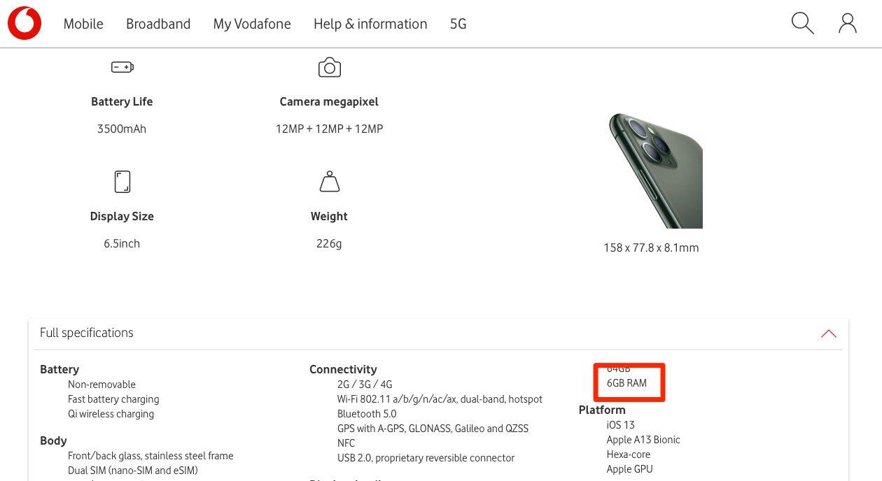 iPhone 11 Pro. OFICIAL, Vestea UIMITOARE ASTEPTATA de Clienti specificatii vodafone