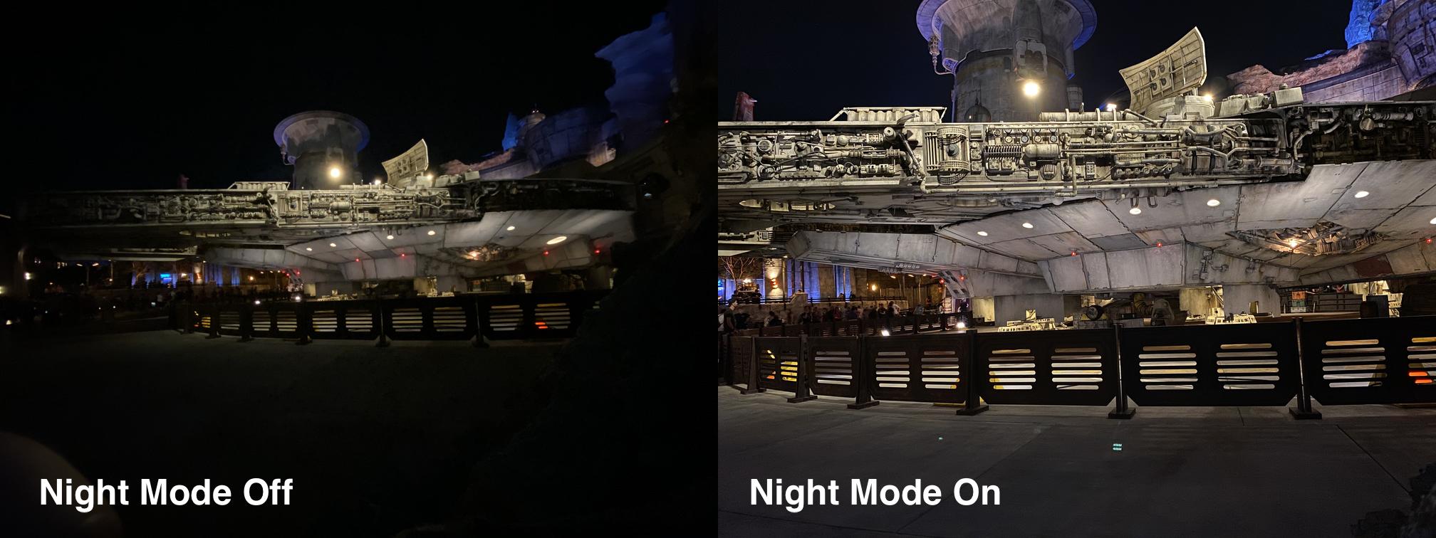 iPhone 11 poza night mode