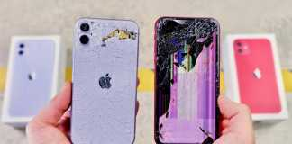 iPhone 11 vs iPhone XR Comparatia REZISTENTEI la Impact (VIDEO)