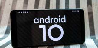 Android 10 sistem gesturi google