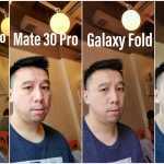 Huawei Mate 30 Pro vs iPhone 11 Pro vs Samsung GALAXY Fold Comparatia Camerelor selfie