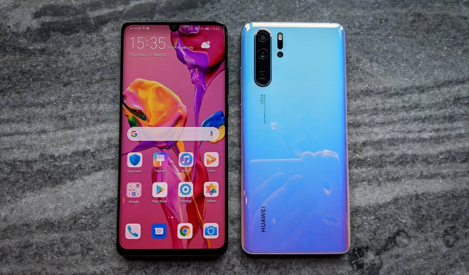 Huawei P40 Pro camera sub ecran