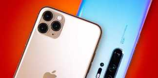 Huawei P40 Pro functie iphone 11 galaxy s11