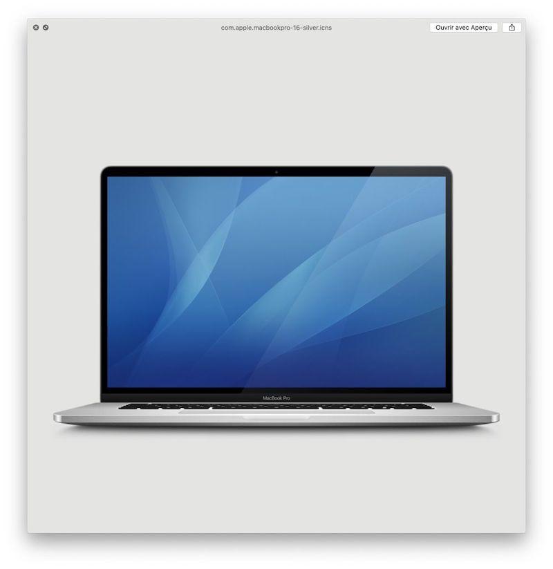 MacBook Pro 16 inch imagine macos