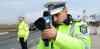 POLITIA ROMANA speriat soferii telefoane reactia