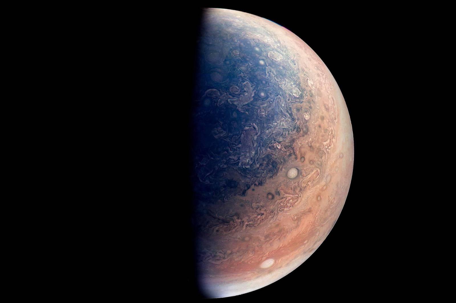 Planeta Jupiter propulsie