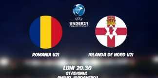 ROMANIA U21 – IRLANDA DE NORD U21 LIVE PRO TV EURO 2021