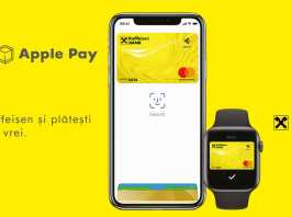 Raiffeisen Bank Apple Pay Romania