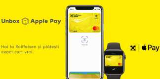Raiffeisen Bank Apple Pay Romania