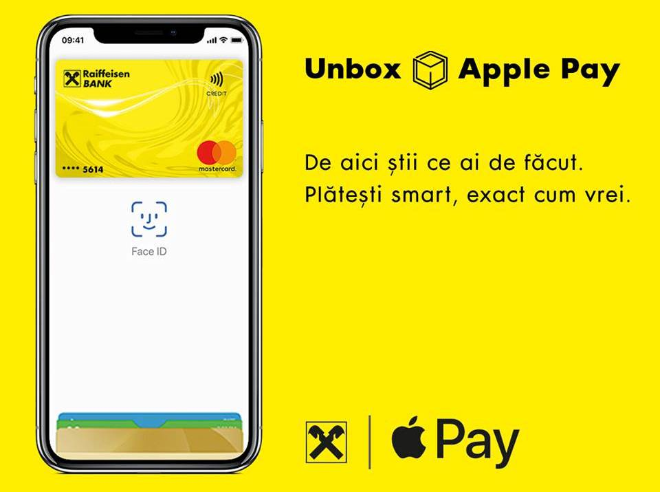 Raiffeisen Bank Apple Pay Romania anunt