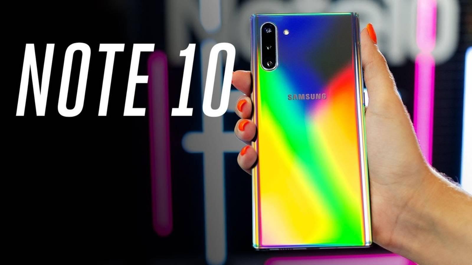 Samsung GALAXY Note 10 venituri