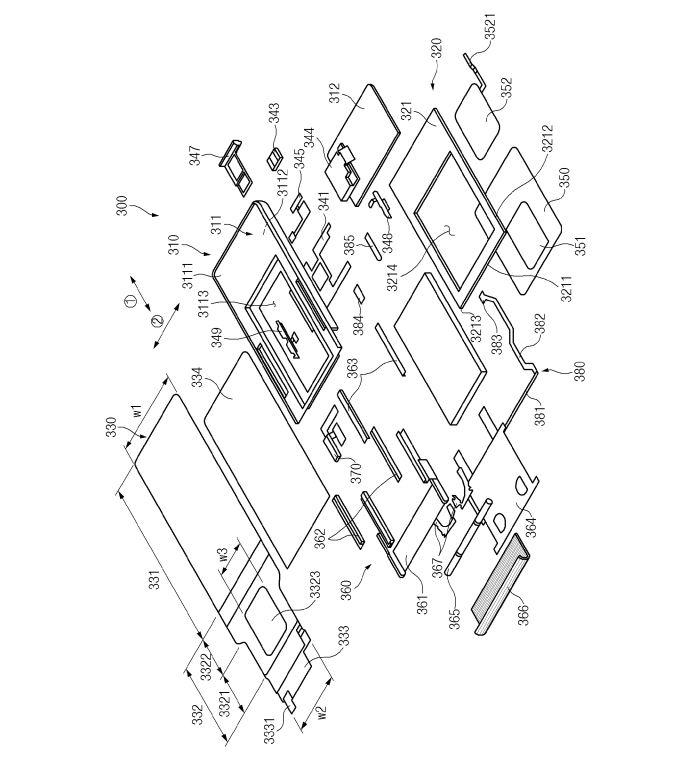 Samsung GALAXY S11 ecran rulat mecanism