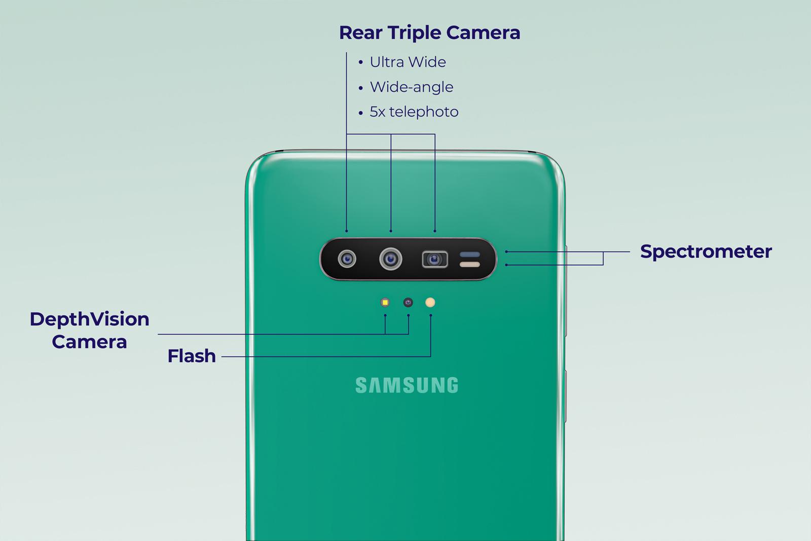 Samsung GALAXY S11 imagini innebuni fani camera