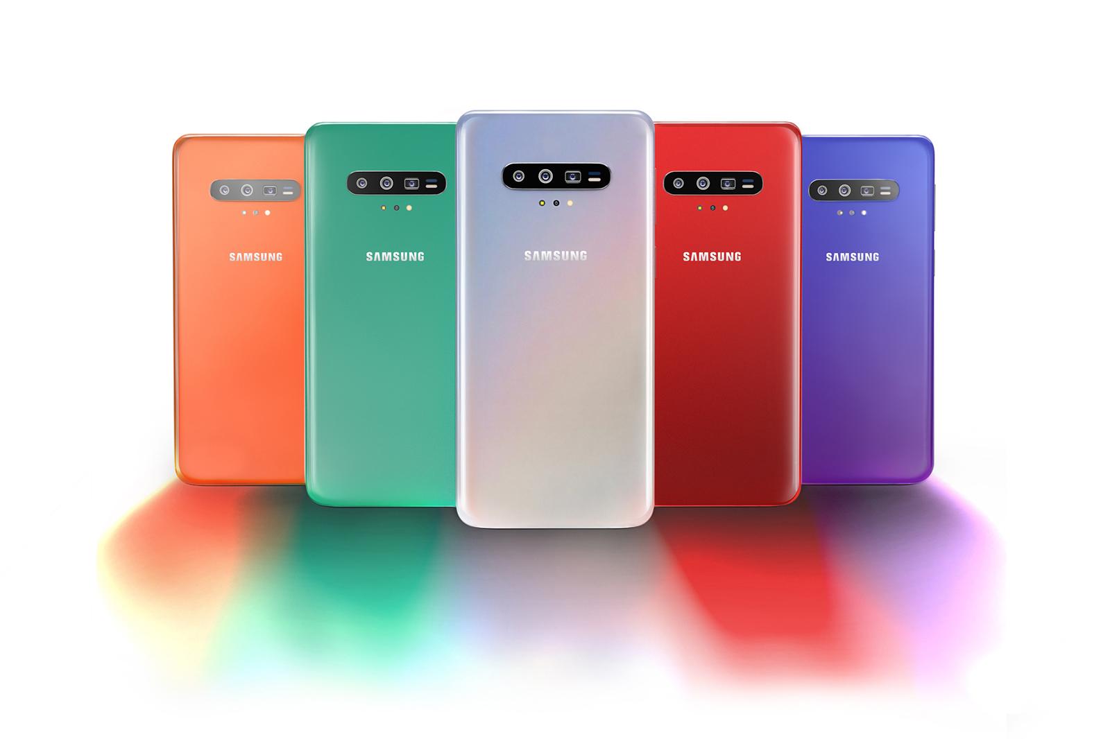 Samsung GALAXY S11 imagini innebuni fani culori