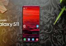 Samsung GALAXY S11 recunoastere faciala