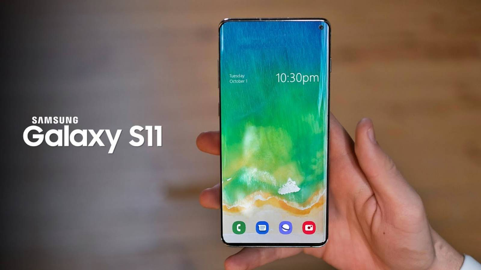 Samsung GALAXY S11 revolutia