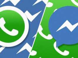WhatsApp Facebook Messenger favorita romani