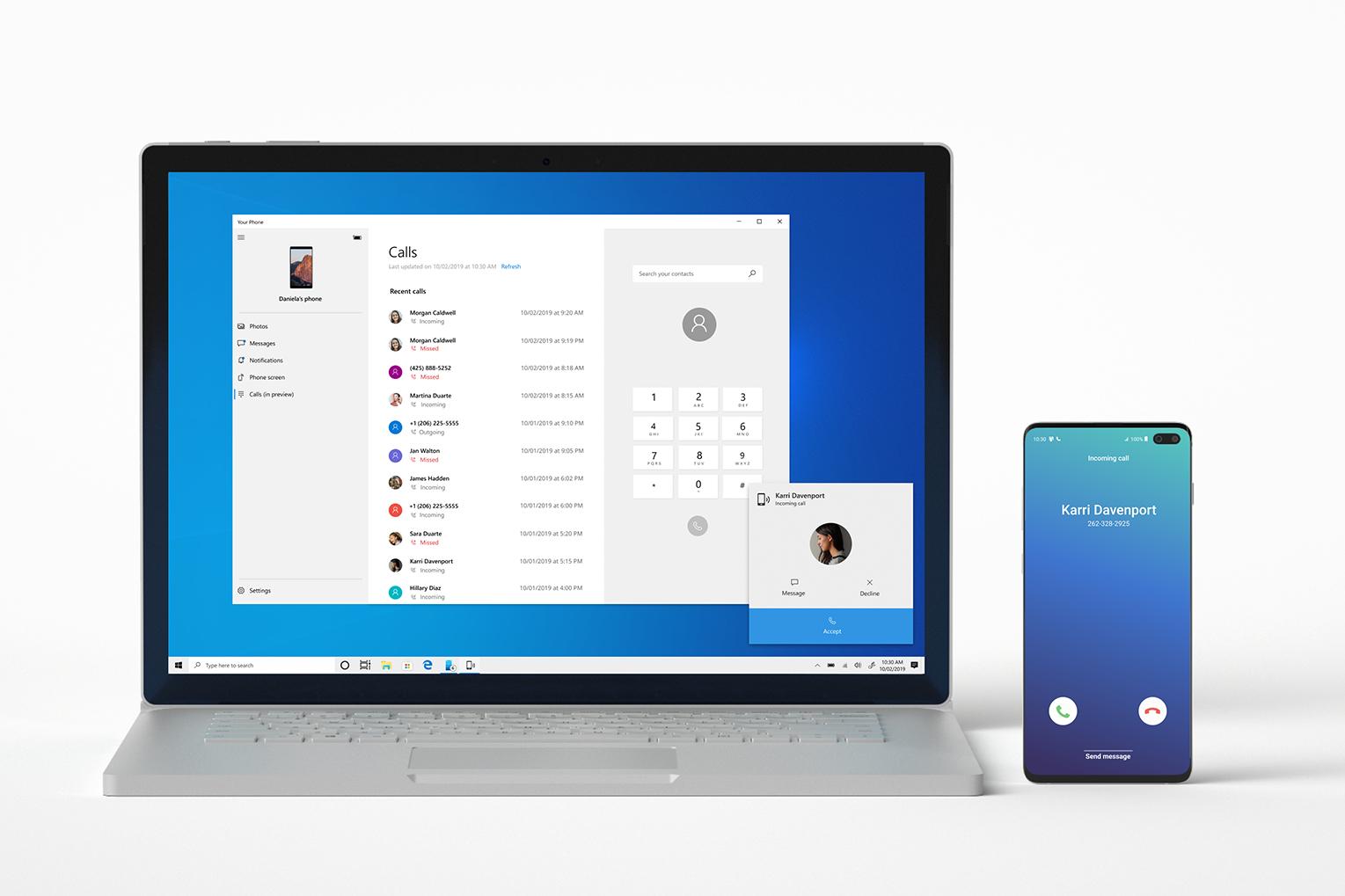 Windows 10 apeluri telefonice pc acceptare