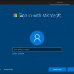 Windows 10 instalare cont microsoft online