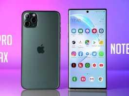 iPhone 11 Pro Max DISTRUGE Samsung GALAXY Note 10 Plus autonomie