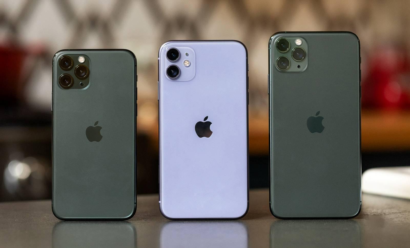 iPhone 11 Pro vanzari mari apple creasca productia