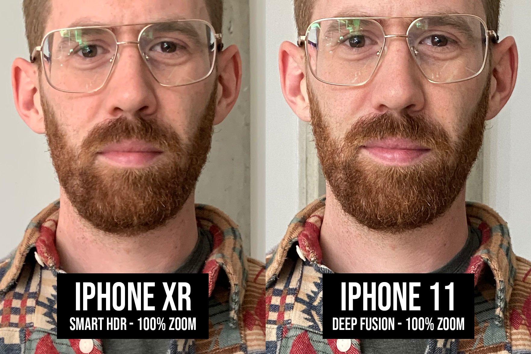 iPhone 11 poza deep fusion