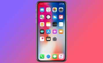 iphone laser apple ecran