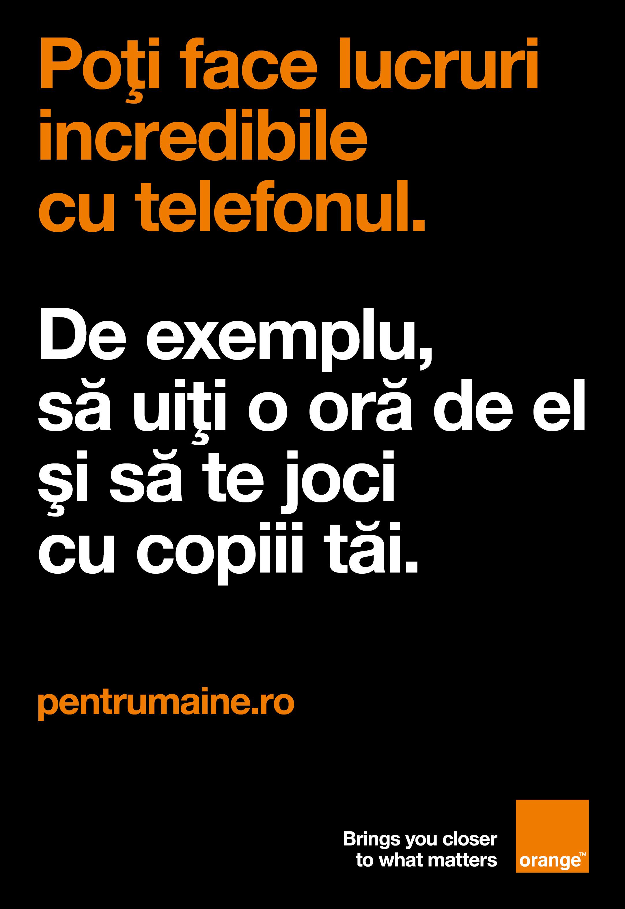 orange clienti anunt responsabilitate sociala telefon