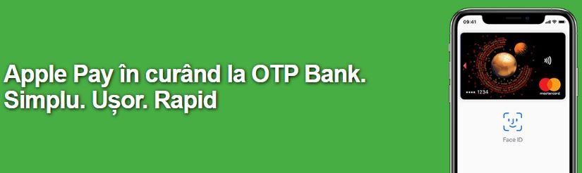 otp bank apple pay romania lansare