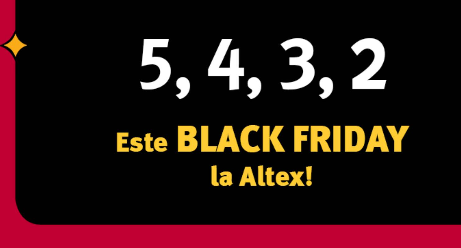 Altex BLACK FRIDAY 2019 Catalog de REDUCERI